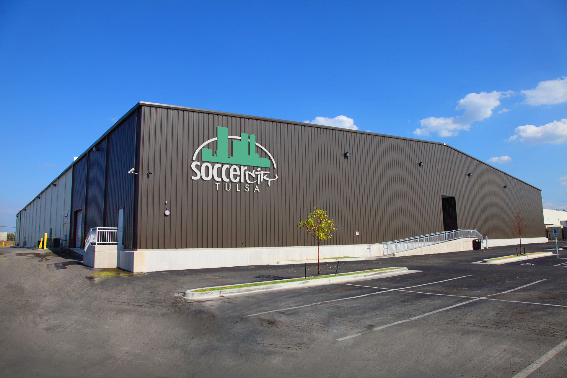LDKerns Soccer City - new metal building construction